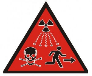 Radiation Danger - High Risk Sources Symbol