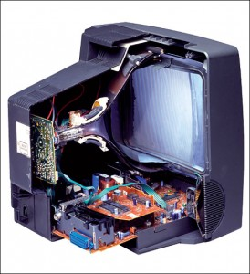 Cathode Ray Tube TV